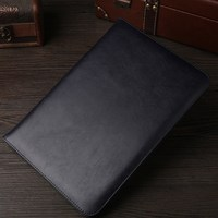 Luxury Top Crafted Shockproof Automatic Wake Sleep Smart Cover Leather Case for Ipad Pro 12.9 inch Cases