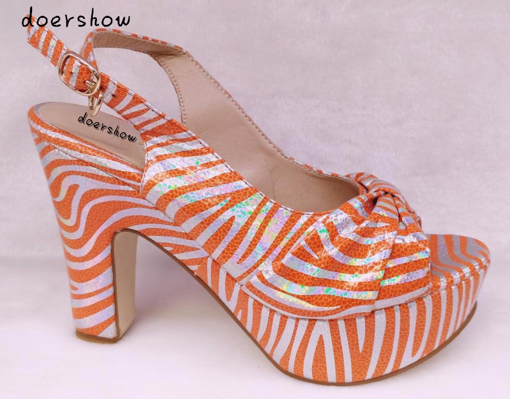 doershow High Quality African Pumps Shoes Fashion Online Beautiful Luxury Ladies High Heels Pumps Lowest Price ! HHY1-18 doershow african shoes and bags fashion italian matching shoes and bag set nigerian high heels for wedding dress puw1 19