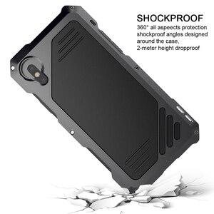 Image 5 - Ascromy Für IPhone X Objektiv Kit Fall Fisheye Stoßfest Aluminium Metall Stoßfänger Abdeckung Für iPhone XS iPhonex iPhonexs Zubehör