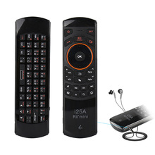 60f486e5171 Rii i25A 2.4 Ghz Wireless Mini Keyboard Air Fly Mouse with IR Remote Control  Learning