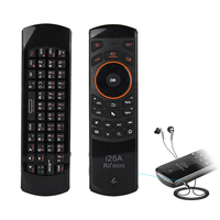 Original Rii I25A US Layout 2 4Ghz Wireless Mini Air Fly Mouse Keyboard With IR Remote