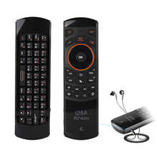 Rii i25A 2.4G Wireless Mini Keyboard Russian English Layout Fly Air Mouse With Remote Control IR Learning For Android TV BOX PC - DISCOUNT ITEM  31% OFF All Category