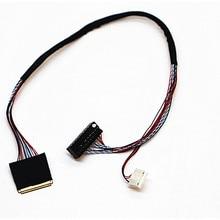 "I PEX 20453 20455 30pin 1ch 6 bit LVDS Cable For 9.7"" BI097XN02 BF097XN02  30Pin0.5mm  spacing LCD/LED Panel Display"