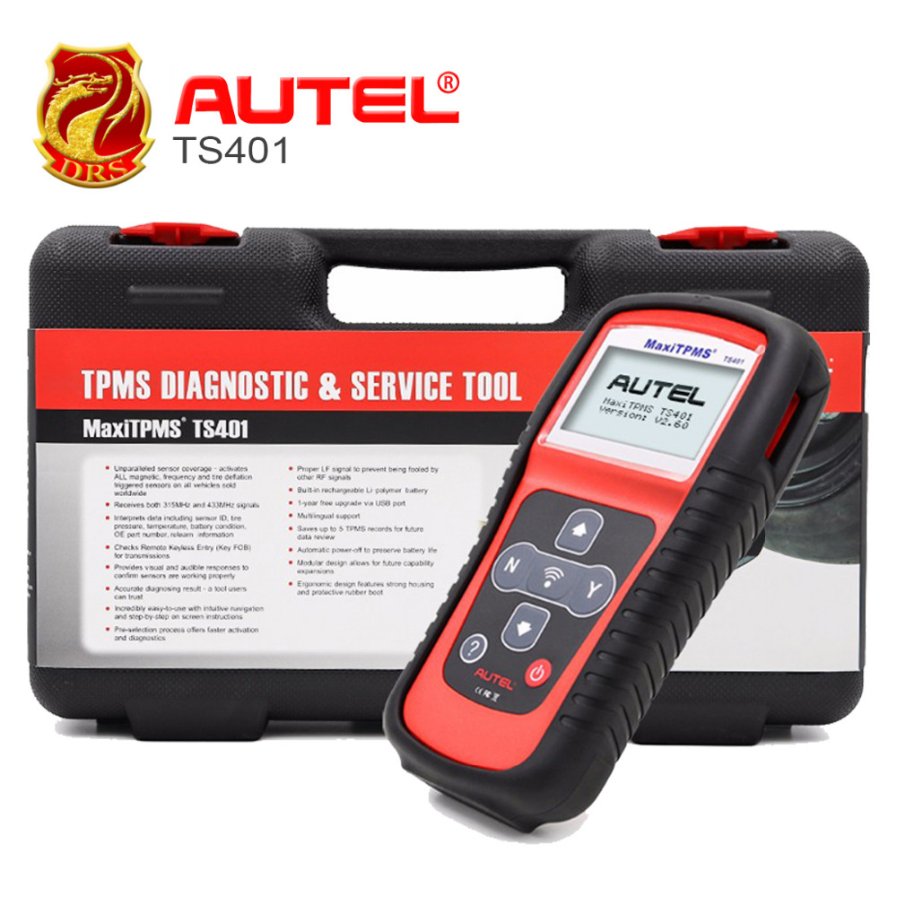 Autel TS401 TPMS Sensor Read Tire Pressure Diagnostic Activate Decode Tool Car Tools MaxiTPMS TS401 Sensor Diagnostics Tools-in Code Readers & Scan Tools from Automobiles & Motorcycles