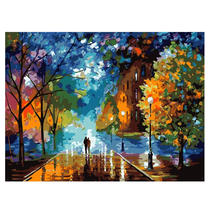 40x50cm Diy Digital Oil Painting By Numbers For Home Decor Hand Painted Gift Szyh070
