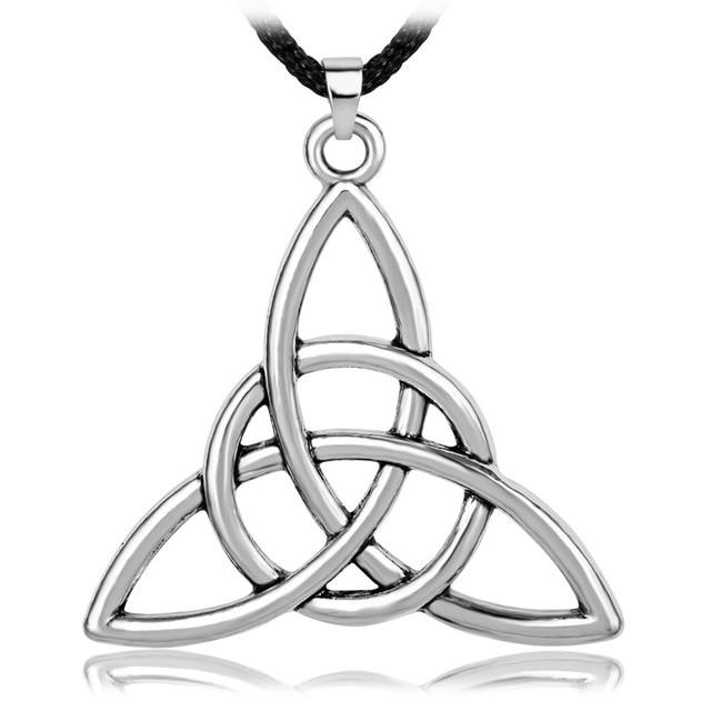 Irish triquetra knot trinity pendant necklace in pendant necklaces irish triquetra knot trinity pendant necklace aloadofball Gallery