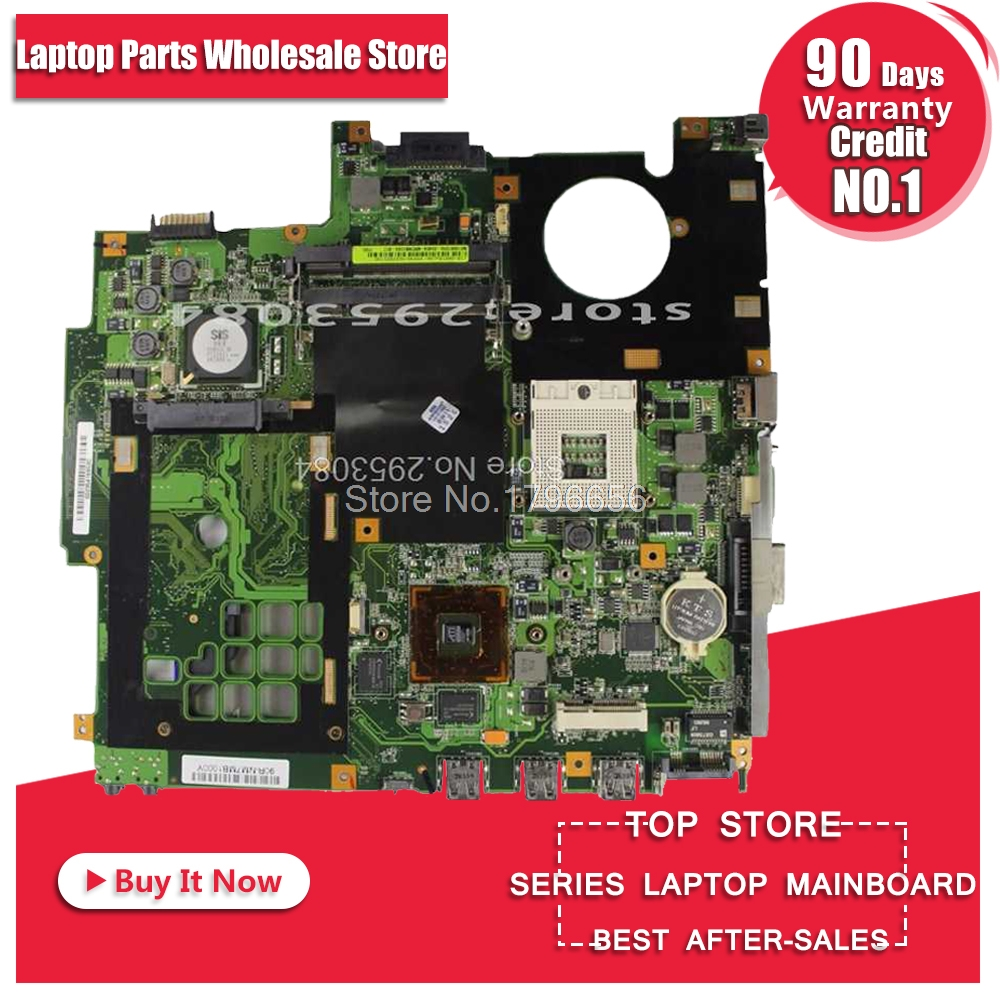For ASUS F5VL X50VL X59SL X50SL F5SL F5SR F5V X50V X59SR F5GL X50GL F5M X50M F5R X50R F5RL X50RL Laptop Mainboard Motherboard