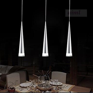 Бесплатная доставка. Светодиодный Современный Алюминий подвеска свет, 1 свет, прозрачный акриловый металлическое покрытие, 110 В-240 В