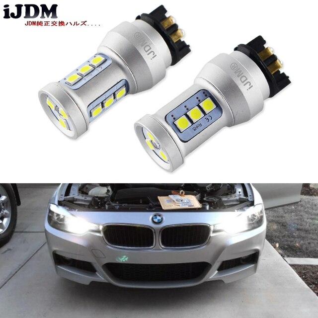 Bombillas LED de xenón para coche, luz blanca Canbus PWY24W PW24W para Audi A3, A4, A5, Q3, VW, MK7, Golf, CC, luces intermitentes delanteras para BMW F30, Serie 3, DRL