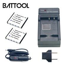 2X SLB-0837 SLB0837 SLB 0837 Recarregável Da Bateria Da Câmera + Carregador de Bateria Para Samsung Digimax i5 i6 i50 L60 NV3 NV7 NV15 NV8