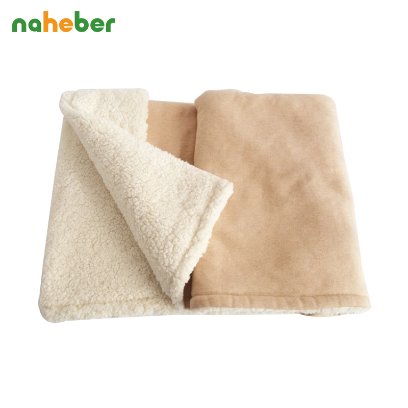 ФОТО Naheber Baby Blankets Winter Warm Newborn Baby Swaddles Thick Infant Bedding Hold Wraps 100x130cm