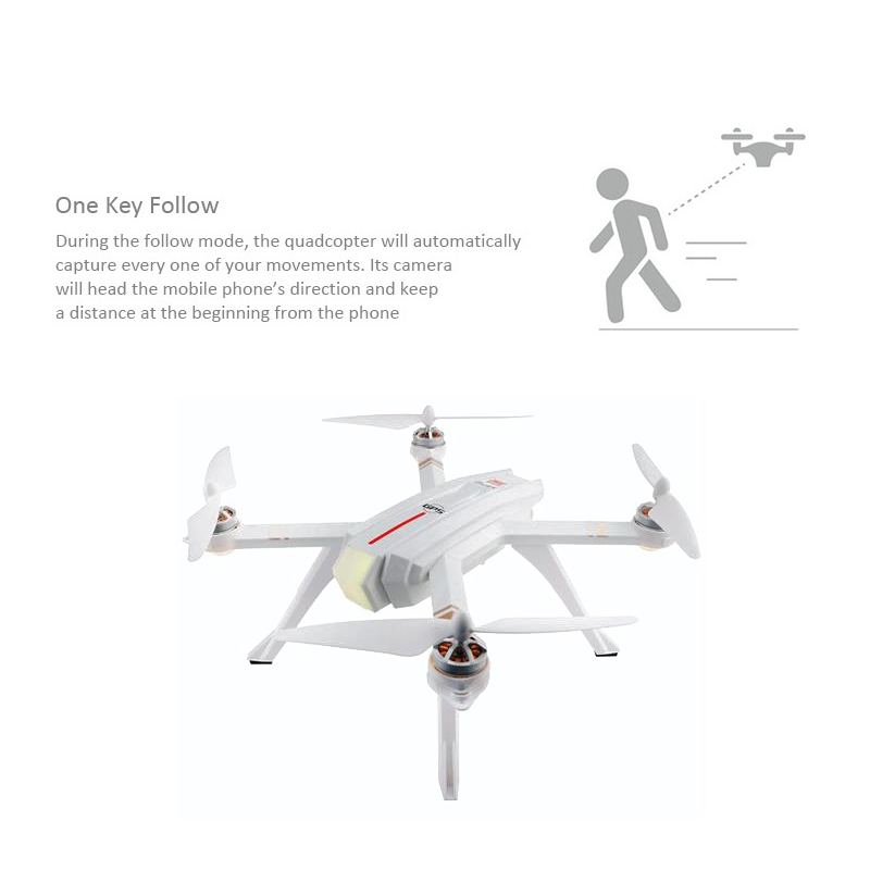 MJX Bugs 3 Pro B3 Pro RC Drone with 720P/1080P Wifi FPV Camera GPS Follow Me Mode Brushless RC Helicopter Quadcopter VS Bugs 5W 1