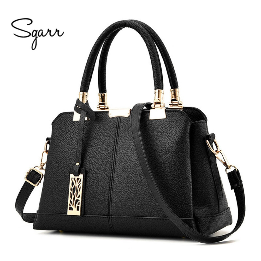 SGARR Brand Luxury Women Handbags Famours Designer PU Leather Crossbody Bag 2017