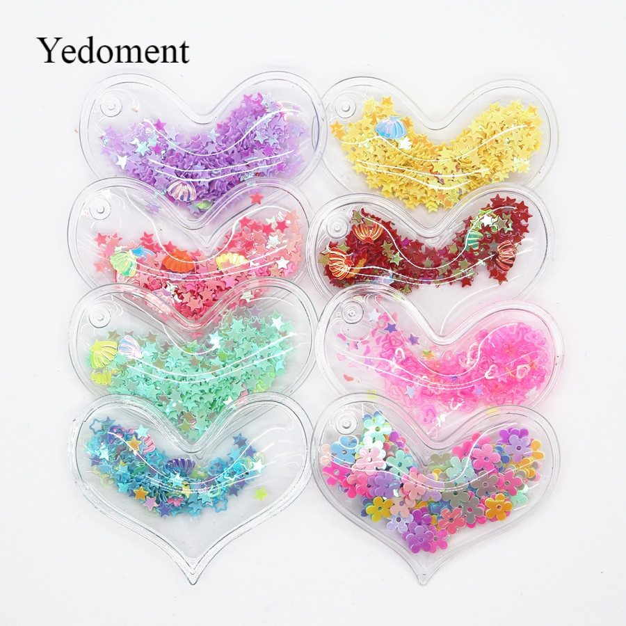 7c6b4967c5 sew on Glitter felt patches for clothes 2.8x3.8cm heart Padded ...