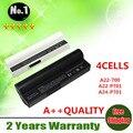 4 células bateria do portátil para asus eee pc 701 2g 4g 8g 700 900 a22-700 a22-p701 a23-p701 p22-900 grátis grátis