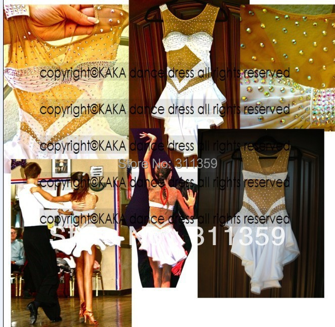 Cheap salsa competition dresses