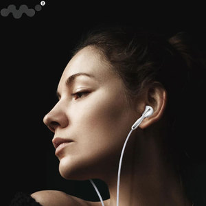 Image 4 - In Ear Earphones Flat Earbuds 3.5mm Wired Sport Headset Stereo Bass Earphone For iPhone 5S 6S Samsung Smartphone With Microphone