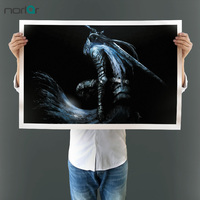 Moderna Decorativa Imagem Arte Moderna Imagem Dark Souls Video Game Impressão Cartaz Casa Da Arte Da Lona Decoração Da Parede Pintura Sem Moldura