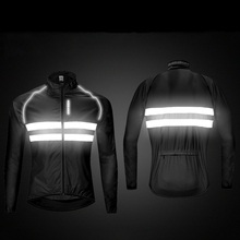 WOSAWE High visibility Windbreaker Motorcycle Jacket Wind Coat Men Women Waterproof Safety Motocross Mountain Bike Clothing