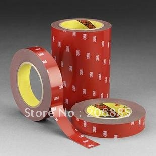 3M 4229P Auto double sided adhesive foam acrylic tape 20mm*33M*0.8mm thickness/grey color Pressure sensitive adhesive tape 5pcs vhb double sided adhesive acrylic foam tape 4229p special for automobile card body side moldings abs and pvc etc 3meters long