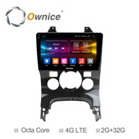 Ownice C500+ 2GB + 32GB ROM Octa Core Android 6.0 Car Radio GPS For Peugeot 308 2016 DVD Multimedia Support 4G SIM DAB+ Carplay