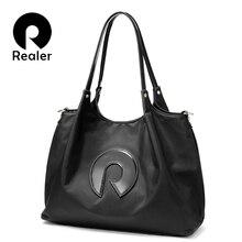 REALER women handbags Oxford messenger shoulder bag female cross-body