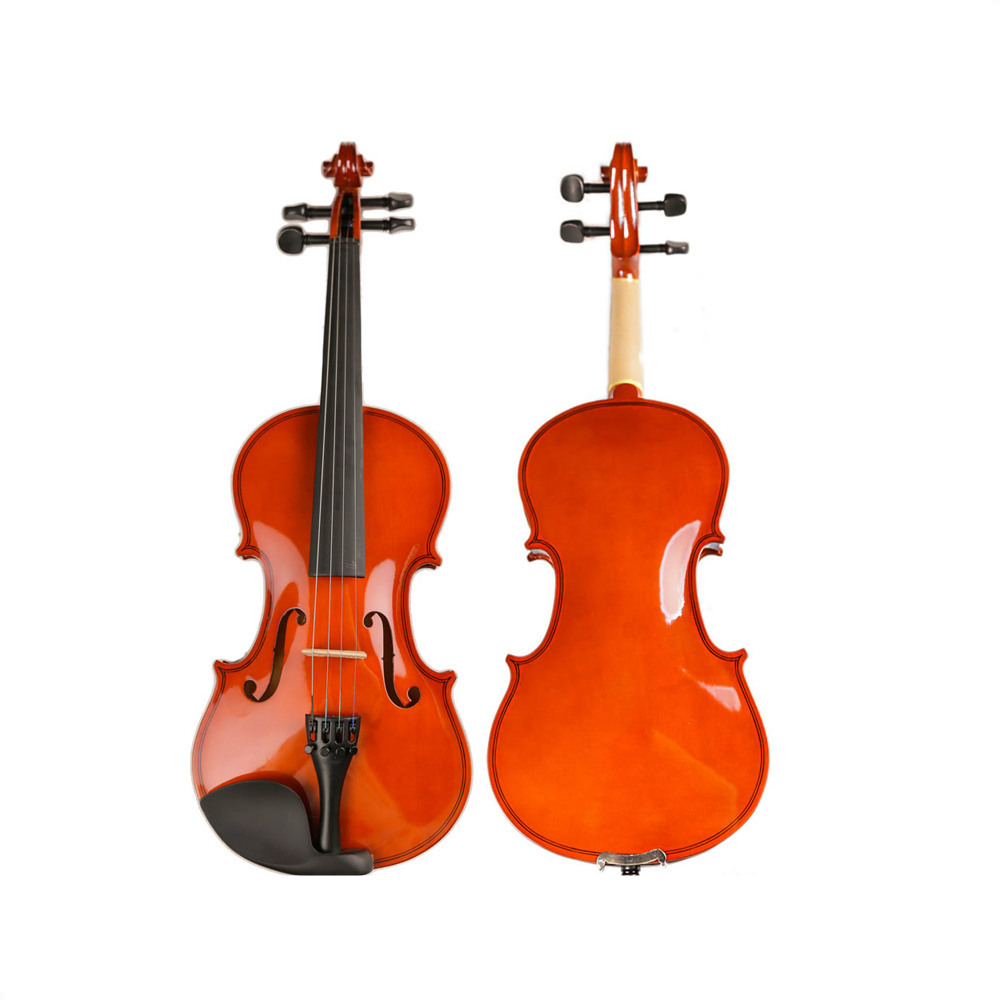 Professional Handmade Wooden 4/4 Violin Lacquer Light Fiddle 4-String Instrument Maple Solid Wooden Both TL-VP01AProfessional Handmade Wooden 4/4 Violin Lacquer Light Fiddle 4-String Instrument Maple Solid Wooden Both TL-VP01A