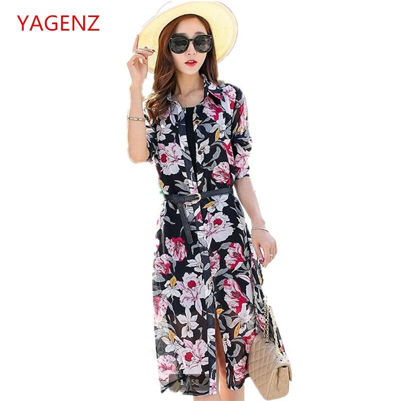 Coat Sunscreen Plus-Size Chiffon Elegant Womens Summer in K3495 Shirt Bask New-Product