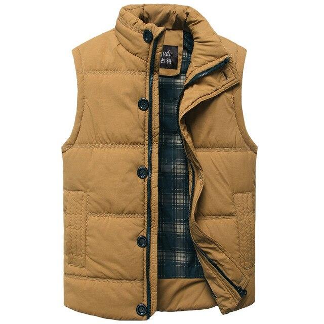 Autumn Winter 2016 men casual sleeveless Jackets vest fashion Brand New Men Waistcoat Coat & Outerwear men waistcoat Z2493