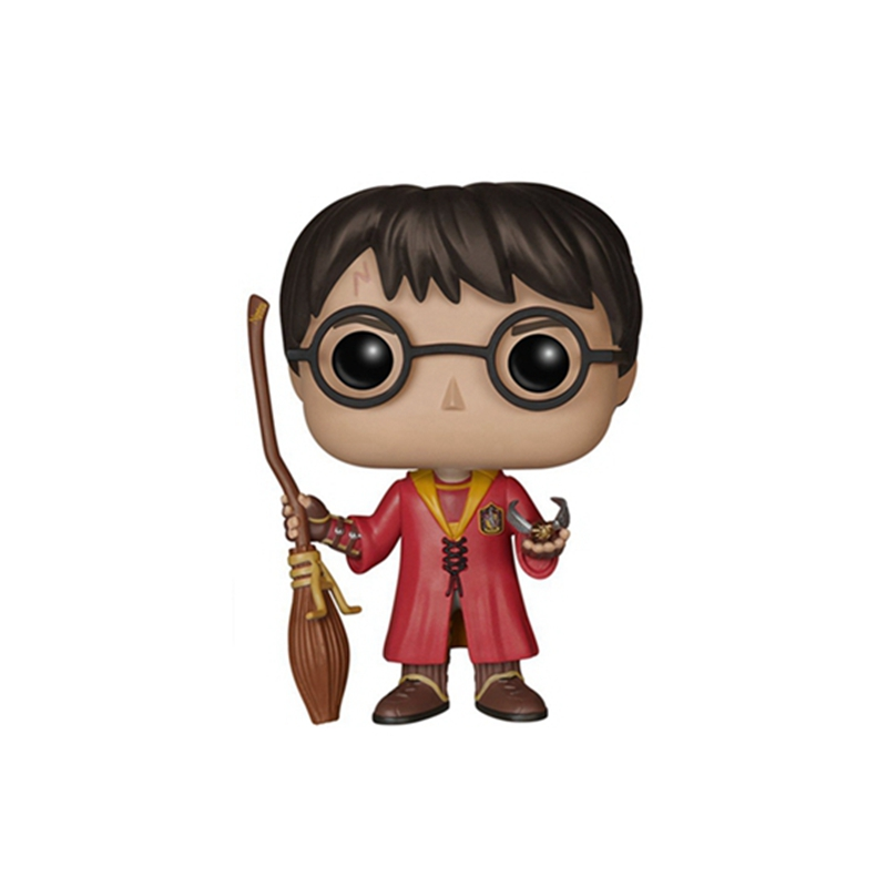 The Harry Potter Quidditch Hermione Ron Action Figure Toy Doll harri potter magic wands set hermione granger lord hermi neville wand metal potter narvissa dumbledore quidditch time turner toy