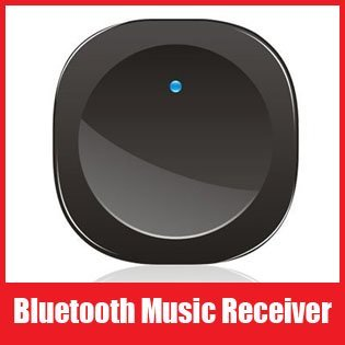 Bluetooth Audio Music Receiver Adapter Stereo for IPhone Ipad Iphone4 Mid Computer PSP Notebook PC, Free Shipping