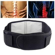 Health Care Waist Support Massager Magnetic Therapy Self-heating Waist Belt Protection Spontaneous Heating Belt Body Massager 2pcs magnetic therapy ankle brace support spontaneous heating protection elastic ankle belt leg pads protectors health care