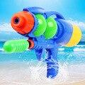 33 cm de largo niño pistola de agua de presión de aire pistola de agua de juguete de playa de verano flamingo flotador de la piscina