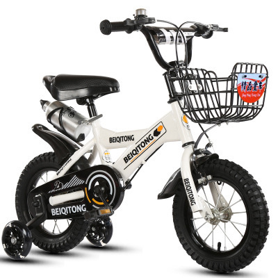 Child Balance Bicycle Thrash Speed Kid Toddler Reigning Bike Cycling Kid's Bicycle Unisex Chidren Tricycle Baby Bike 15~26in