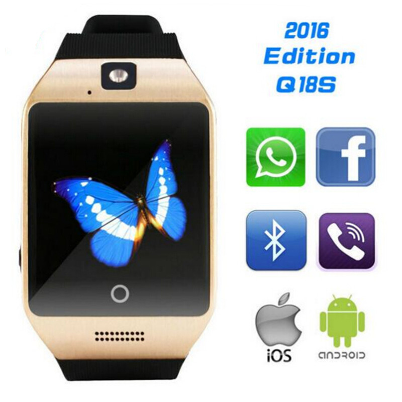 2019 NEW Bluetooth smart watch Apro Q18s Support NFC SIM GSM Video camera  Support Android/IOS Mobile phone pk GT08 GV18 U8