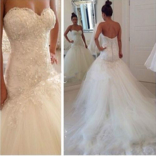 Backless Vestido De Noiva Muslim Wedding Dresses Mermaid Tulle Lace Beaded Vintage Dubai Arabic Wedding Gown Bridal