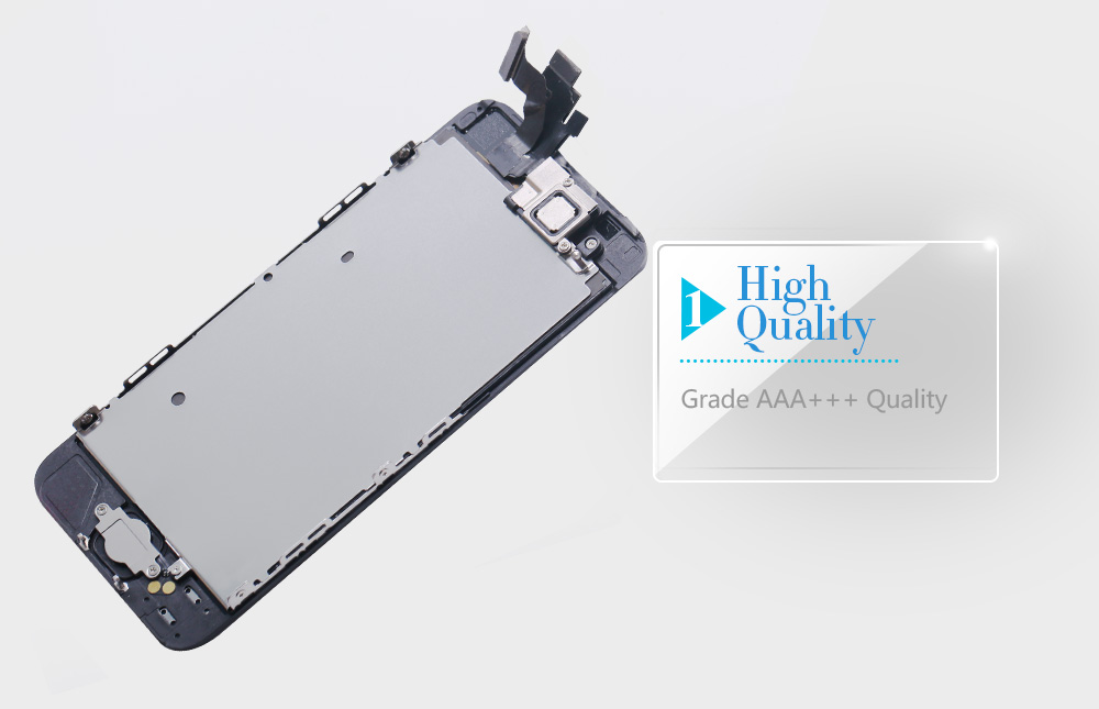 HTB1mr4CX0fvK1RjSszhq6AcGFXaR Full Assembly LCD Display for iPhone 5s 6s se 6 Touch Screen Digitizer Replacement with Home Button Front Camera Complete LCD