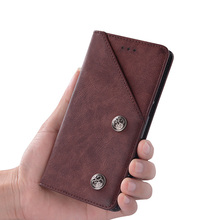 Phone Case For BlackBerry Key2 Case Cover Leather Flip Coque Luxury Protective Cover For BlackBerry Key 2 BBF100 Fundas