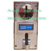 CPU Multi Coins Selector coin Acceptor for Vending /JAMMA,accept 6 type coins identified at same time /arcade game machine part