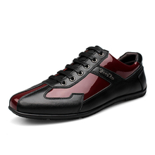Luxury Brand Fashion Genuine Leather Men Shoes 2019 New Leather Men Casual Shoes High Quality Plus Size 36-48 Flat Shoes For Men new leather shoes men casual high quality black dress shoes autumn winter fashion shoes for men zapatillas hombre plus size38 48
