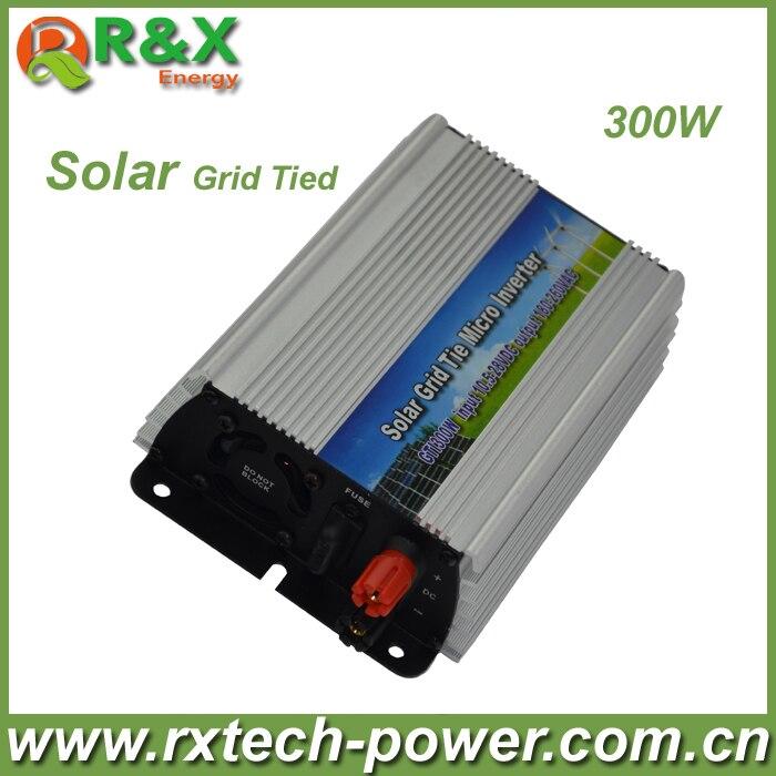 Grid-Tie 300W Pure Sine Wave Inverter DC10.5V~28V, AC 180-260V, 45Hz-53Hz/55Hz~63Hz, for Solar Input Power 400W, good quality maylar 22 60vdc 300w dc to ac solar grid tie power inverter output 90 260vac 50hz 60hz