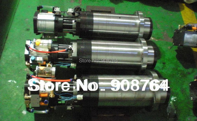 machine tool spindle cnc milling spindle motor ATC  BT40 with encoder,15000rpm,170mm 7.5KW+air cylinder Spindle004#