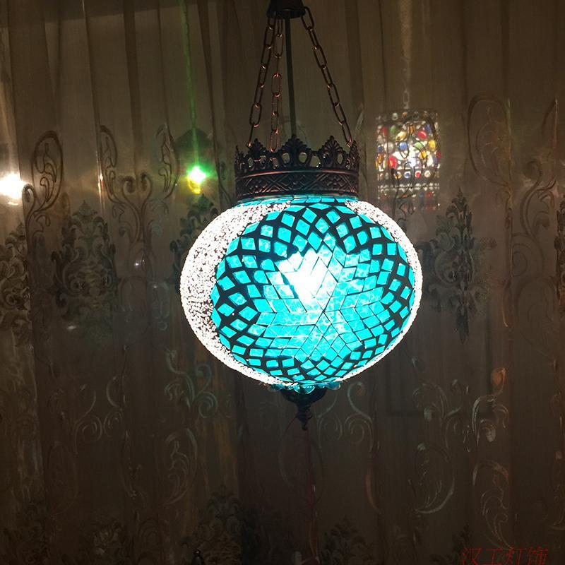 Bohemia turkish moroccan pendant light handmade mosaic stained glass Corridor Stairwell cafe restaurant hanging light lamp turkish moroccan pendant light handmade mosaic stained glass corridor stairwell cafe restaurant hanging light lamp