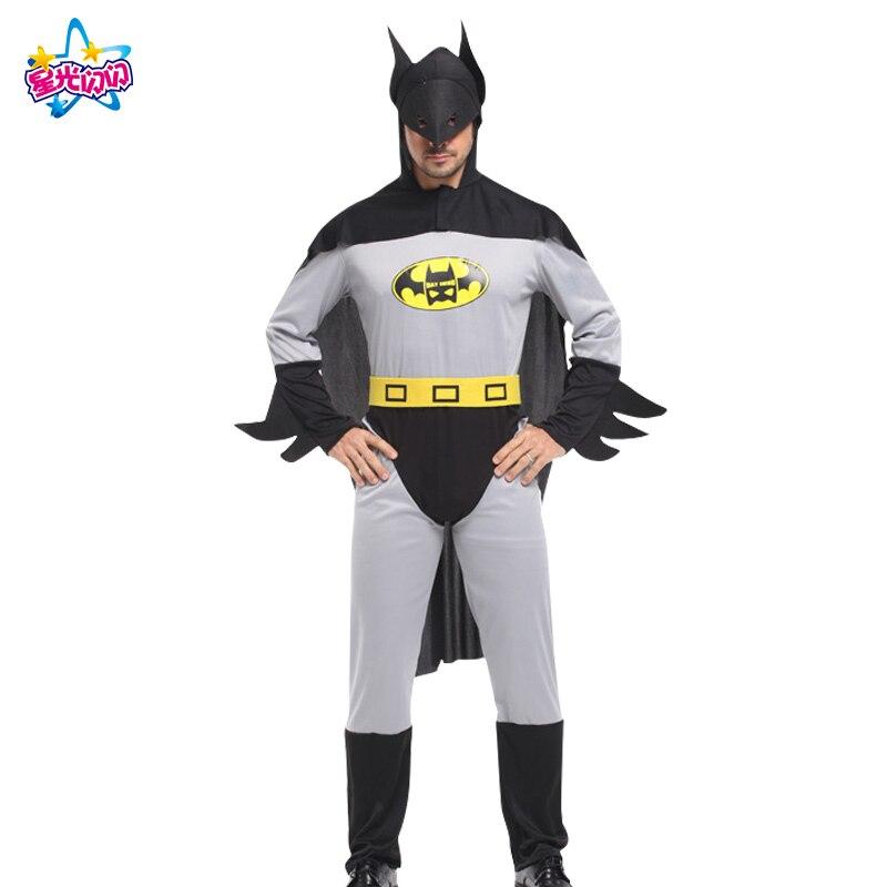 Gratis forsendelse NoEnName cosply kostume voksen edderkopp batman - Kostumer - Foto 2
