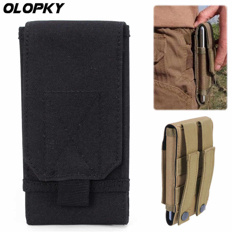Voor Blackview BV5800 BV6800 BV8800 BV9500 BV9600 BV9700 Pro Outdoor Universal Tactical Telefoon Pouch Riem Haak Holster Taille Case