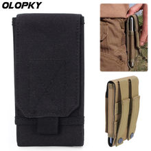 For Blackview BV5800 BV6800 BV8800 BV9500 BV9600 BV9700 Pro Outdoor Universal Tactical Phone Pouch Belt Hook Holster Waist Case(China)