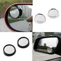 2 pcs universal Driver 2 Side Wide Angle Rodada Convex Car veículos Espelho Blind Spot Auto RearView para todos os carro quente venda