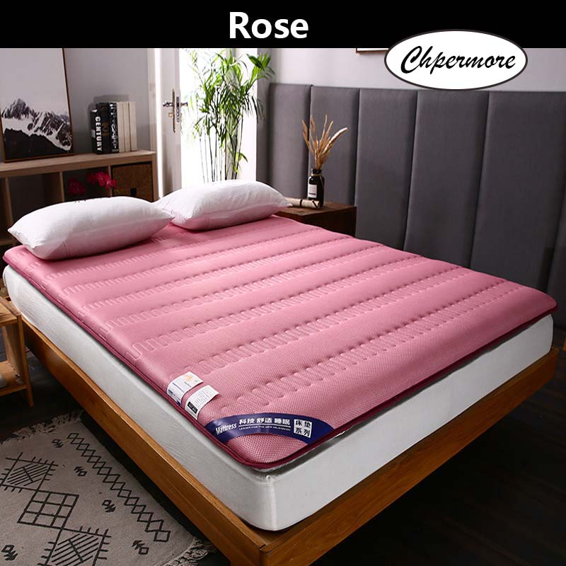 Chpermore 3D Breathable Thickening Mattress Tatami Single Double Foldable Mattresses Bedspreads King Queen Twin Size
