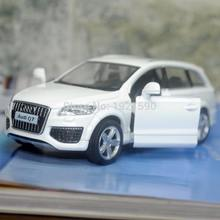 UNI 1/36 Scale Pull Back Car Toys Germany Audi Q7 SUV Diecast Metal Car Model Toy For Collection/Gift/Kids(China)