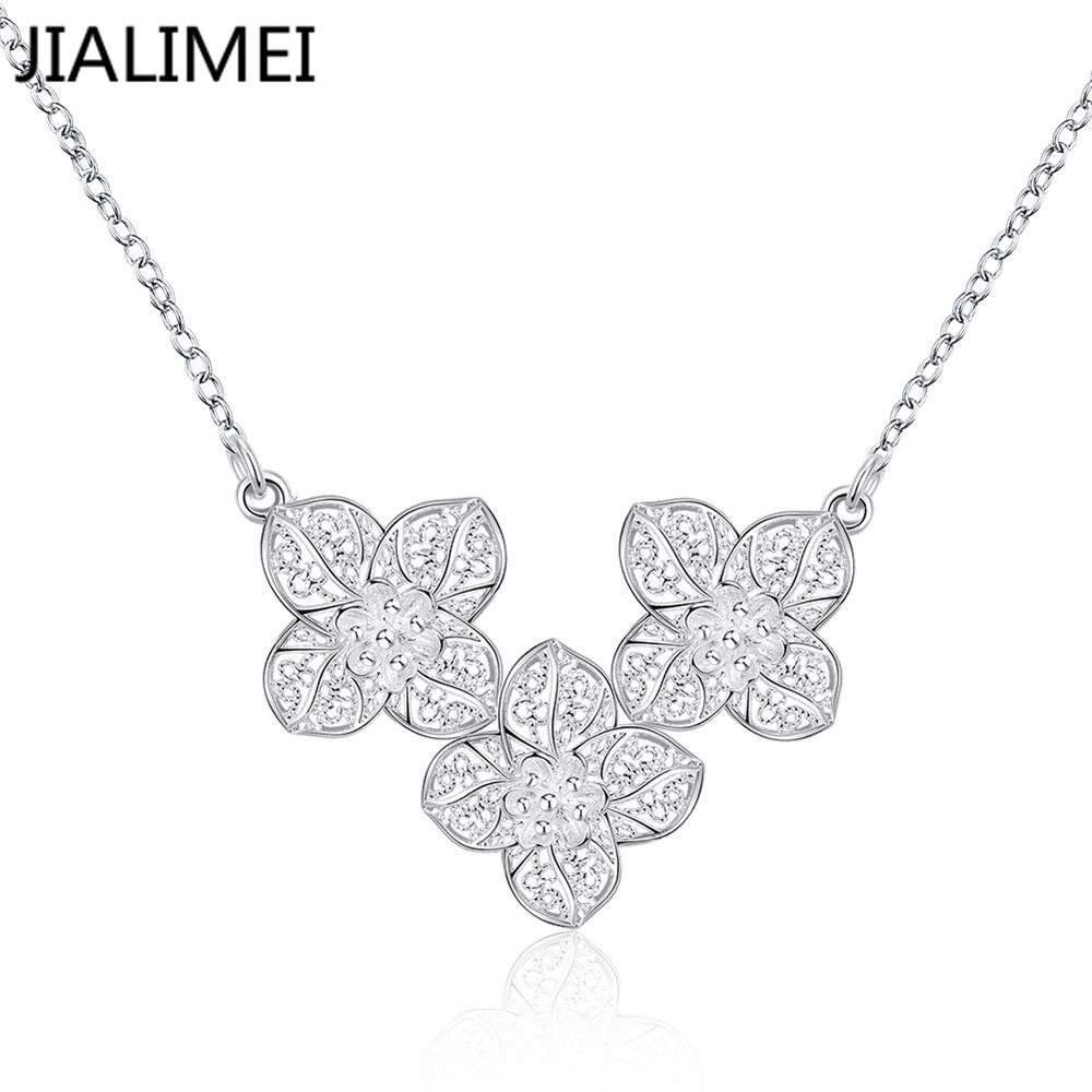NEW YEAR Gift! pendant necklace,high quality silver pendant necklace,fashion necklace Silver jewelry For Wedding Party N754